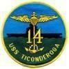 USS Ticonderoga (CV-14)