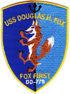 USS Douglas H. Fox (DD-779)