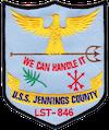 USS Jennings County (LST-846)