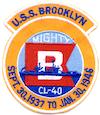 USS Brooklyn (CL-40)
