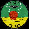 USS S-27 (SS-132)