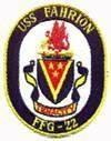 USS Fahrion (FFG-22)