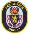 USS Hopper (DDG-70)